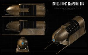 Tavlek-Illonic Transport Pod ortho by unusualsuspex