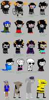 homestuck according my mother by SierraAquarius