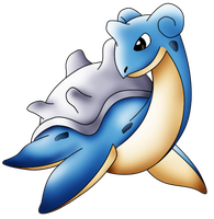 Pokemon number 131 - Lapras by KingofAnime-KoA