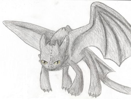 Toothless by StitchToothless2010