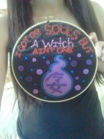 Soul Eater Hoop by StarBellBoutique