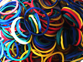 Rubber Bands by Reconnection