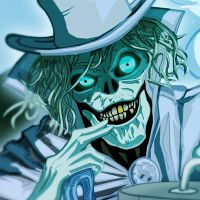 Hat Box Ghost Detail by KileyBeecher