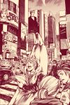 TIMES SQUARE by Ecthelian