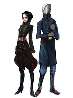 baroness and cobra commander by C-hot