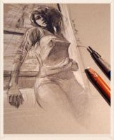 daily sketch 3539 by nosoart