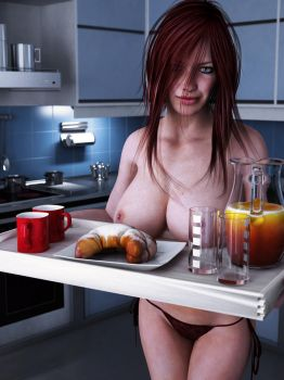 breakfast is served by SaphireNishi