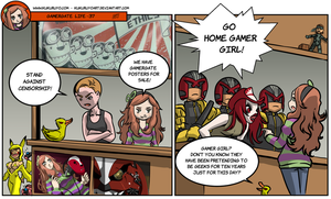 Gamergate life 37 by KukuruyoArt