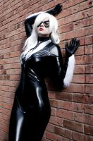 Black Cat Cosplay by Inuyomi