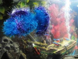 Mohair fish by foxymitts