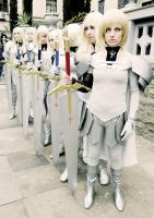 Grupo claymore by Temariiii