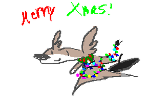 happy holidays by Coyotoscoping
