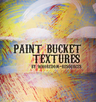 Paint bucket textures by whoredom-resources