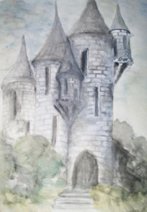 kealeys castle-drawing day