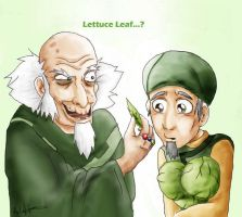 Bumi and the Cabbage Guy by Emotions5Times