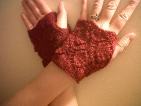 Steampunk Mitts by Inkerbel