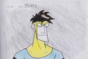 Invincible sketch by jEROMEaNIMATIONS