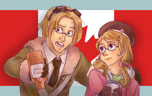 There's no more maple syrup by avatarmirai