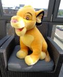 Giant Paris Simba cub plush by Gallade007