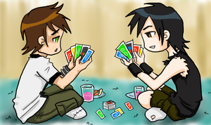 BEN10: Children's Card Game by pan2dapan