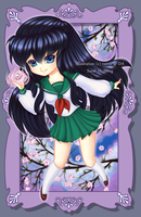 Kagome and the Shikon Jewel by vainia