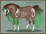 Minty Chips F451 by DragonsFlameMagic
