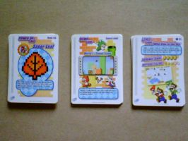 Super Mario Advance 4-e cards by shnoogums5060