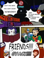 Teen Titans in The New Show by broken-with-roses