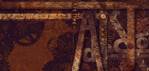 Book Cover: Steampunk Style by RRHardGay