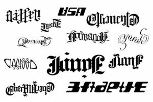 Ambigrams Set 1 by jgavan101