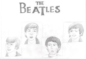 The Beatles by holly525