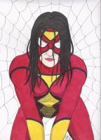 classic Spider-Woman by BaldPat