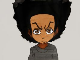 Huey Freeman by BronzeAthlete