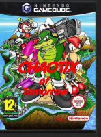 Chaotix of Tomorrow- the cover by mightydillo