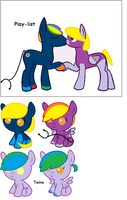CHEEP MLP BREEDING ADOPTS OPEN! by FrankinPoodle