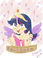 MLP FIM -twilicorn- by cheryl-jum