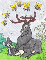 Prongs and Prongslet by liliesgrace