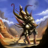 earth colossus by ancampelo