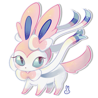 Sylveon Page Doll by theamazingwrabbit