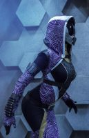 Tali'Zorah cosplay by Serpina-s