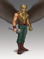H is for Hawkman by Mista-M