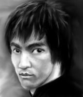 Bruce Lee by nCarbon