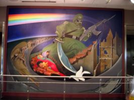 Denver Airport Mural by devinemrs