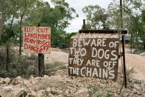They Don't Muck Around Out Here by FireflyPhotosAust