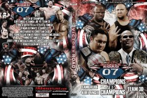 TNA Victory Road 2007 DVD by kylebeech