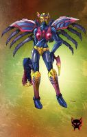 TM2 Black Arachnia by Dan-the-artguy