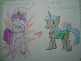 Changeling Twilight (NATG day 20) by aj0joe