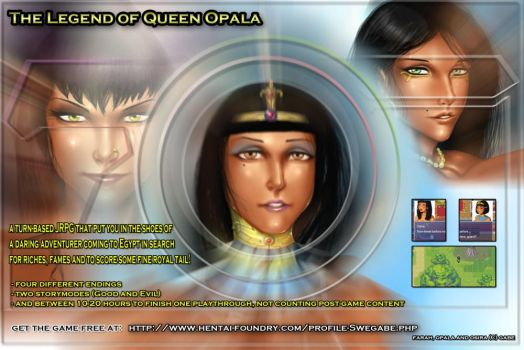 The Legend of Queen Opala JRPG by Black--Sword