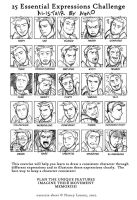 DA - Faces of an Ex-Templar by aimo