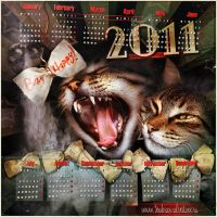 Happy Cats Year by inObrAS